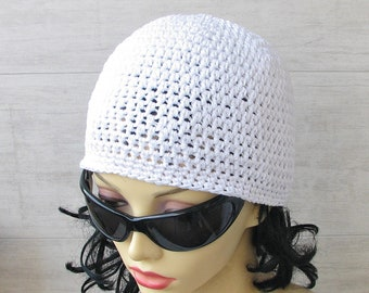 Summer Hat Crochet Sun Beanie Blush Pink Kufi Beach Cotton Accessories  Women Fashion choose your color