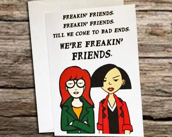 Daria and Jane Card