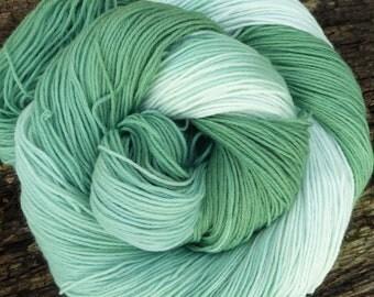 MERINO wool Nylon SOCK yarn 4 ply fingering, 100 gms, 425 mts, Mollycoddle Yarns, Hand dyed