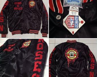 Vintage Guns N Roses varsity jacket size XL