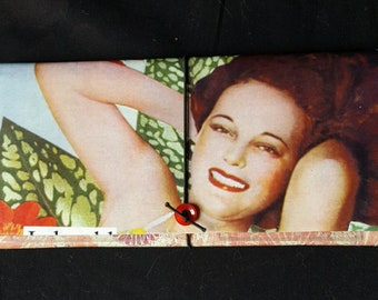 Pin Up Girl Wallet  ~I should come with a warning label~