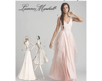 8289, D0641, Simplicity, Misses' Formal, Prom, Evening Gown, Bridesmaid Dress, Leanne Marshall Design, knee length Dress, Maxi Dress Pattern