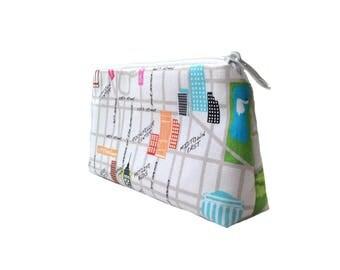 New York - Makeup bags cosmetic bag