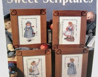 Leisure Arts Sweet Scriptures Cross Stitch Kit 2291
