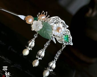 Chinese Style Hair Stick,hair pins,hair clip,shell hair comb,gift for girl,gift for women