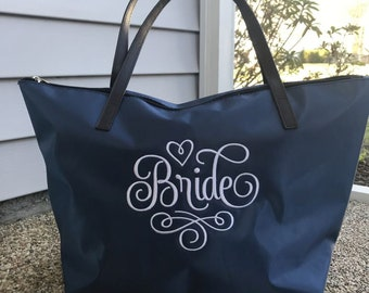 Mother of the Bride Gift - Mom Tote - Custom Designs Mom Bag - Personalized - Wedding Gifts