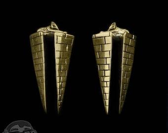 Sphinx Brass Ear Weights