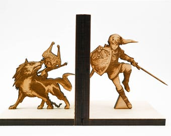 Bookends, Zelda, Twilight Princess