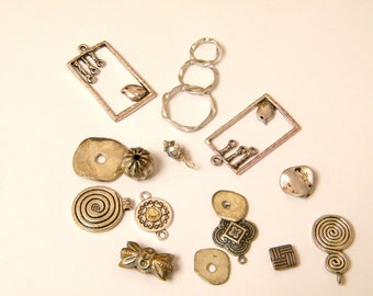 SILVER MIX BEADS