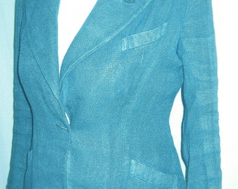 FREAKS IN SKY BLUE LINEN JACKET
