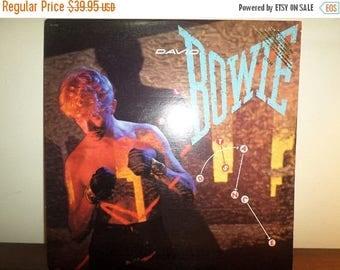 Save 30% Today Vintage 1983 Vinyl LP Record David Bowie Let's Dance Excellent Condition Rare PROMO Version 11326