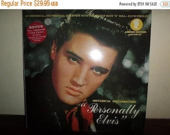 Save 30% Today Vintage 1979 Vinyl LP Record Set Personally Elvis Unofficial Release Elvis Presley Mint Condition 10341