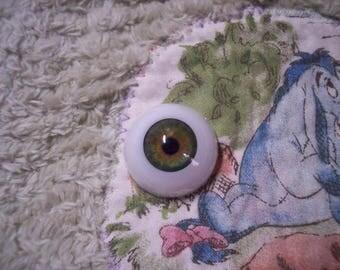 EyEcO EyEs PoLyGLaSs Eyes GrEeN GaZe A251 20MM~ REBORN DOLL SUPPLIES