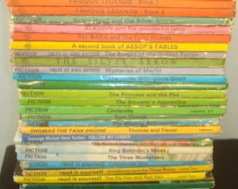 Set of 42 Ladybird Mixed Series Fiction Books. All in good condition or better