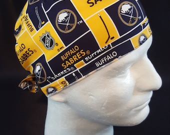 Buffalo Sabres NHL Hockey New York Surgical Scrub Hat