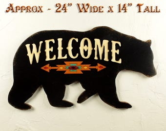 Welcome Rustic Sign Wood Entryway Sign Wooden Welcome Sign Lake House Rustic Welcome Sign Wood Welcome Sign Mountain Decor Rustic Home Decor