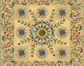 Dreamcatcher Applique Quilt Pattern - Edyta Sitar - Laundry Basket Quilts - LBQ-0498-P