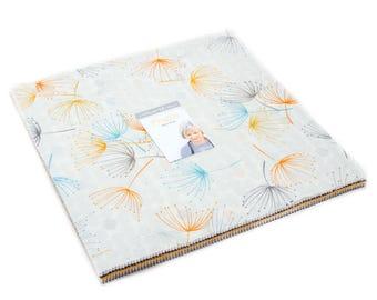 "Fragile - Zen Chic - Brigitte Heitland - Moda - Layer Cake - 10"" Squares - 1630LC"
