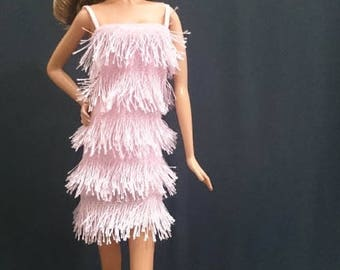 Dolls dress for Barbie,Tall barbie, FR,Silkstone,Vintage barbie- No.180115-1