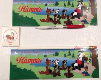 RARE, vintage Hamms lot