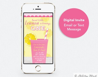 Text Message Invite Etsy - Birthday invitation text messages