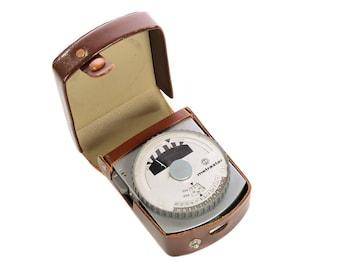 Metrastar - Vintage Exposure Light Meter case -Made in Germany