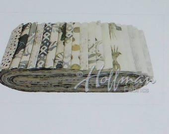 Batik Bali coquelicot ~ cascade ~ par Hoffman 20 pouces 2.5x44 de bandes de tissu coton envoi rapide, JR528