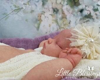 Custom Andi Asleep. SOFT Full Vinyl Baby.  Anatomically Correct Newborn Size Baby.  Beautifully Realistic. Boy Or Girl!
