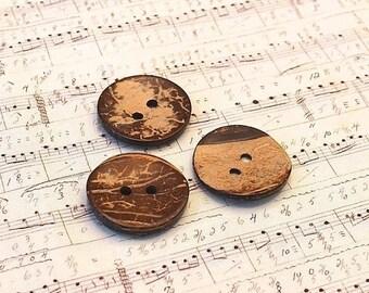 Summer Sale Coconut button 3, 7cm 1 PCs