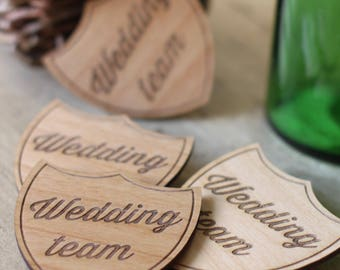 Wedding Team badge