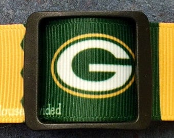 Custom Dog Collar* Steelers * Packers  * A House Divided  * Adjustable Buckle  OR Martingale Collar**I Love My Dog Collars on Etsy