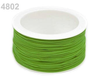 3 m elastic round 1.2 mm Green 4802