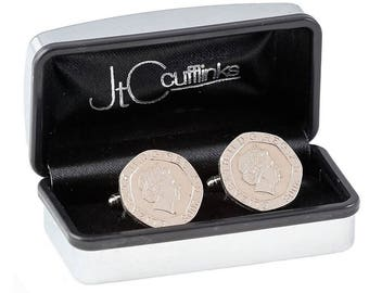 2008 coin cufflinks mens 10th tin wedding anniversary gift in 2018