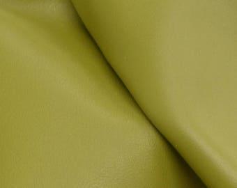 """Gallant Olive Green """"Signature"""" Leather Cow Hide 12"""" x 12"""" Pre-cut 2-3 oz flat grain DE-61629 (Sec. 8,Shelf 4,D)"""