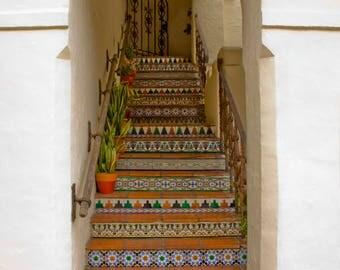 Talavera Stairs - Fine Art Photography Print