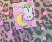 Usagi Moon COLLAR BROOCH