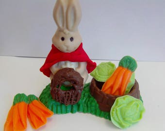 Flopsy Bunny Candy Cake Topper-Peter Rabbit Theme Birthday Party/Shower/Beatrix Potter