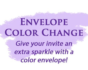 Envelope Color Change