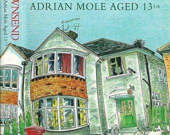 First Edition Books -The Illustrated Secret Diary of Adrian Mole Aged Thirteen And Three Quarters - Sue Townsend - 1st Edition Book 1994