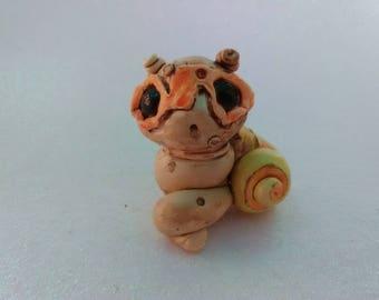 Cute Sea Snail Creature Sculpture