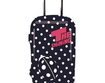 Luckiplus Spandex Luggage Cover Durable Suitcase Cover Fits 18-32 Inch Luggage
