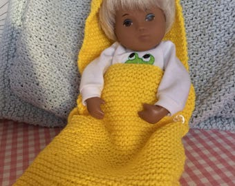 Baby nest for baby Sasha by Granny Peggy