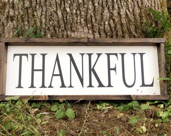 Thankful, farmhouse style