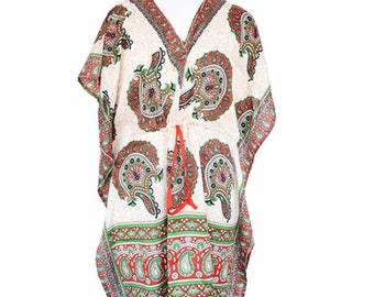 Beautiful Caftan for Summer wear-Indian Caftan Kaftan-Free Size Kaftan-Sundress-Maxi Dress-Evening wear