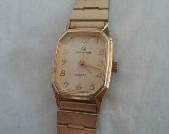 HELBROS vintage women's watch Work's A1 12.00