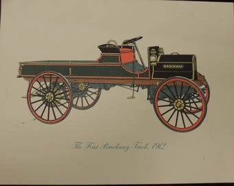 First Brockway Truck Print