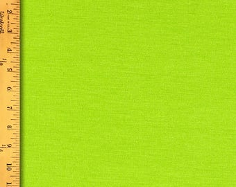 """Sale Lime Green, 100%  Cotton , Solids, 44"""""""