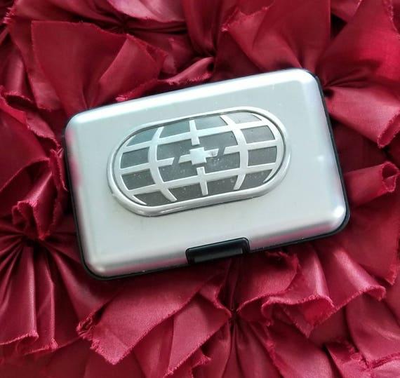 Credit Card Case RFID Wallet Genuine Chevy Emblem
