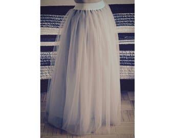 Plus size maxi tulle skirt floor length tulle skirt tulle black maxi skirt long tulle skirt long bridesmaid tulle skirt plus size skirt