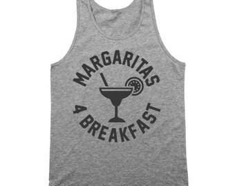 Margaritas 4 Breakfast For Drink Spanish Brunch Tank Top DT0373